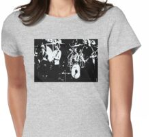 Playing in the Band -  Design 1 Womens Fitted T-Shirt