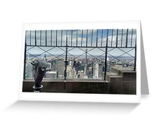 Empire View Greeting Card