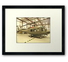 UH-1 Huey Helicopter Framed Print