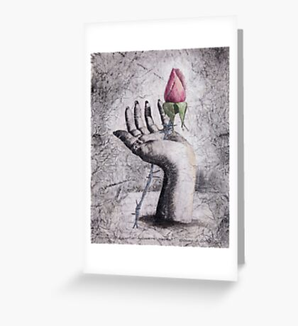 The Price of Redemption - an Ecological Statement Greeting Card
