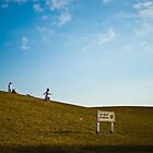 Girl Skipping Downhill by marz808