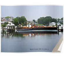 Aphrodite in the Bay, Watch Hill, Rhode Island Poster