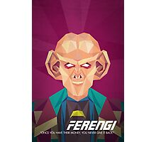 Ferengi Photographic Print