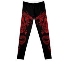 Red Dragon Leggings Leggings