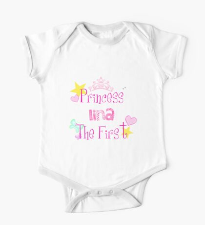 personlized baby gift (lina) One Piece - Short Sleeve