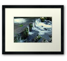 The Water Fall Framed Print