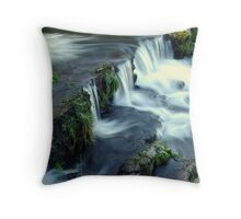 The Water Fall Throw Pillow
