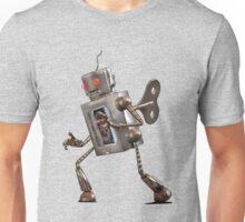 Wind-up Robot Unisex T-Shirt