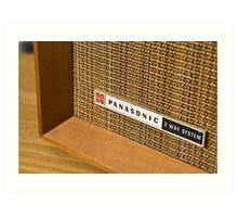 Panasonic Radio Art Print