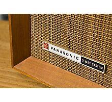 Panasonic Radio Photographic Print