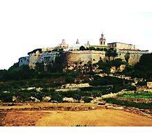 Mdina, Citadel Photographic Print