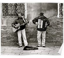 BUSKERS AT WORK (CREATIVITY) Poster
