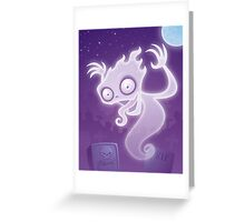 Ghostie Greeting Card