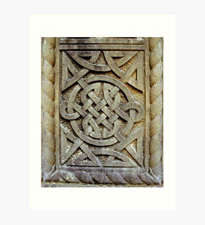 Celtic Knotwork Art Print
