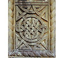 Celtic Knotwork Photographic Print