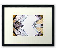 Kubuswonig - Cube Houses - Rotterdam Framed Print