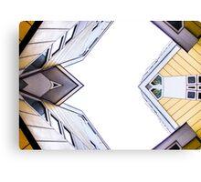 Kubuswonig - Cube Houses - Rotterdam Canvas Print