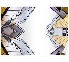 Kubuswonig - Cube Houses - Rotterdam Poster