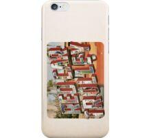 red car trolley. iPhone Case/Skin