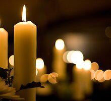 Candle bokeh by benivory