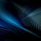 blue projection #1 by dominiquelandau