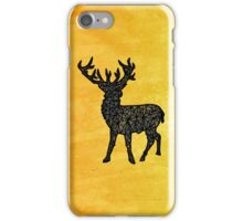 Geo-Stag iPhone Case/Skin
