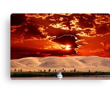 EARTH SKY AND WATER Canvas Print