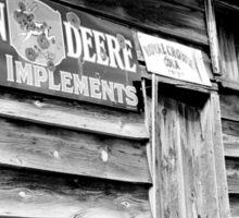 John Deere Farm Implements Sticker