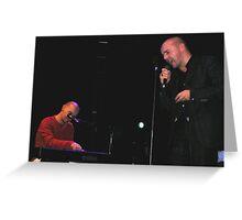 Hue & Cry Comeback Gig, ABC Glasgow, 21-10-05 Greeting Card
