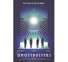 """Ghostbusters"" Poster Photographic Print"