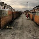 Through the backstreets of a Yorkshire mining Town by Dave Warren