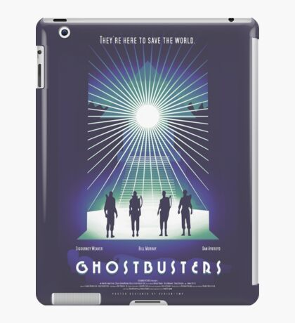 """""""Ghostbusters"""" Poster iPad Case/Skin"""