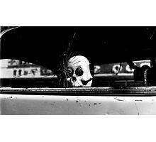 Spooky Ride Photographic Print
