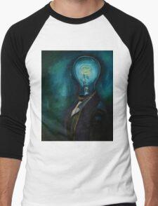 Light Headed 3 Men's Baseball ¾ T-Shirt