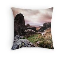 West Kennet Long Barrow Throw Pillow