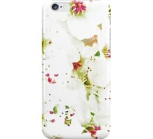 Pretty Pear Petals iPhone Case/Skin