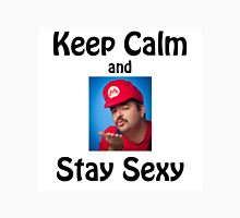 SexyMario MEME - KEEP CALM and STAY SEXY Unisex T-Shirt
