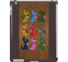 9 Mayan Dogs  iPad Case/Skin