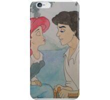 The Little Mermaid Watercolor iPhone Case/Skin
