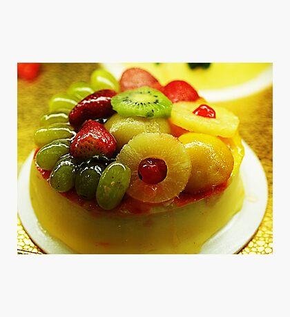 Fruity Cheesecake Photographic Print