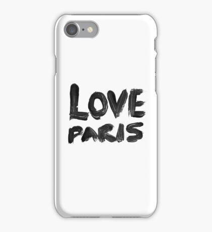 LOVE PARIS iPhone Case/Skin