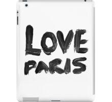 LOVE PARIS iPad Case/Skin