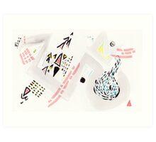 star-crossed and cross-eyed Art Print