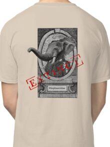 Elephantidae Exstinta Classic T-Shirt