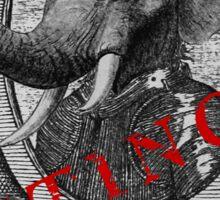 Elephantidae Exstinta Sticker
