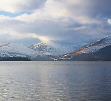 Glen Luss in Winter by Susan Dailey