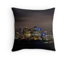 Sydney Skyline & Cityscape Throw Pillow