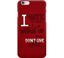 A Day To Remember - All Signs Point To Lauderdale (Part 2) iPhone Case/Skin