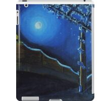 Village House compound Moon Light- Bharat iPad Case/Skin