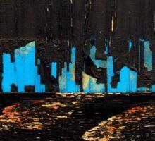 The City by Night Sticker